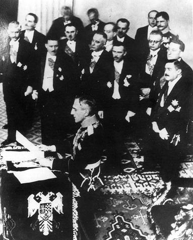 Proglašenje Kraljevine Jugoslavija