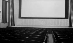 Pozornica u glinskoj Kasini na kojoj je nastupao CKD