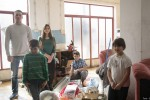 Porodici Grčić je nedavno izgorjela kuća. Porodici je ovaj put pomognuto u nabavci ormara i elektro materijala za kuću.