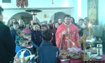 Liturgija na Svetog Savu 2016..godine