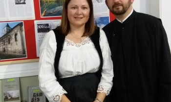 Mirjana Dabić Lazić i prota Dragan Lazić