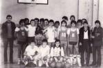KK Mladost iz 1978. godine, kada je i osnovana. Slika nastala u OŠ Ivan Rukavina Siđo u Petrinji